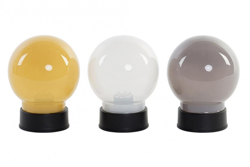 Led lampa ball 9x9x13 / pp 3 boje