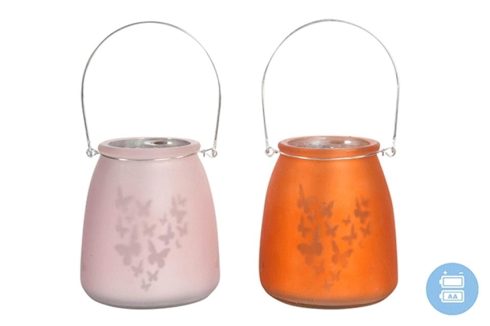 Led lampa sa leptirima 11x13 2 boje