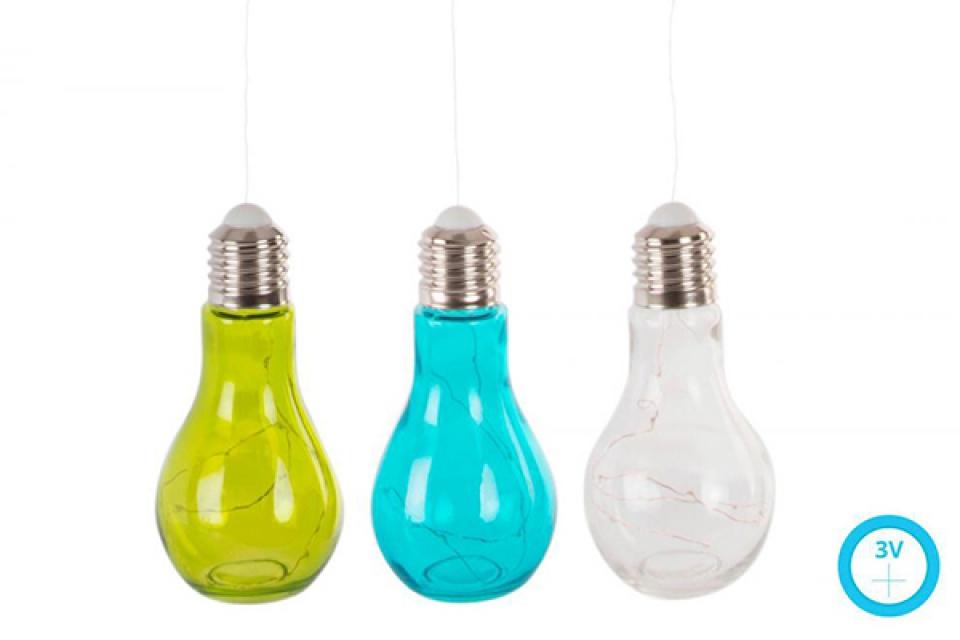 Led lampa sijalica u boji  9x19 3 modela