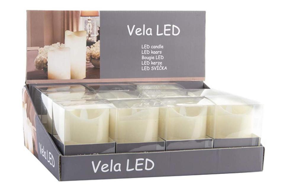 Led lampica u obliku sveće 7,5x12