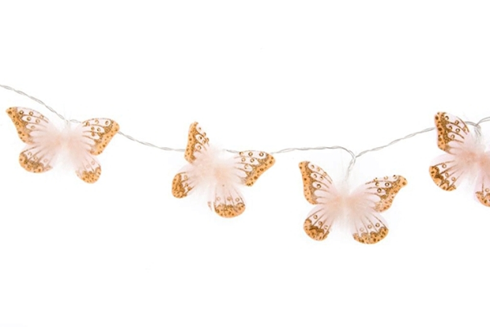Led lampioni leptiri set 10 145 cm