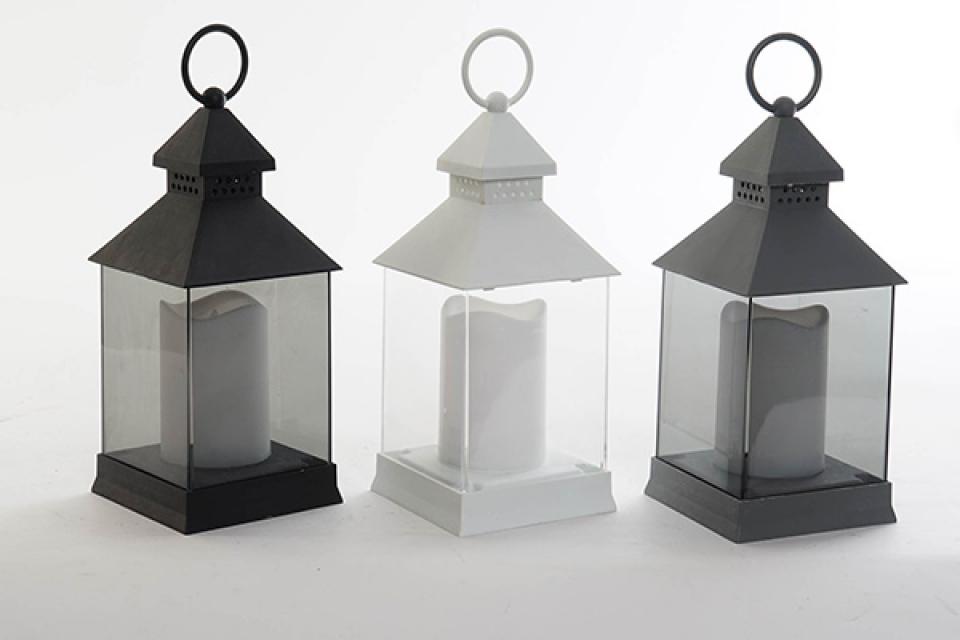 Led svećnjak / pp 10,5x10,5x24,5 3 modela