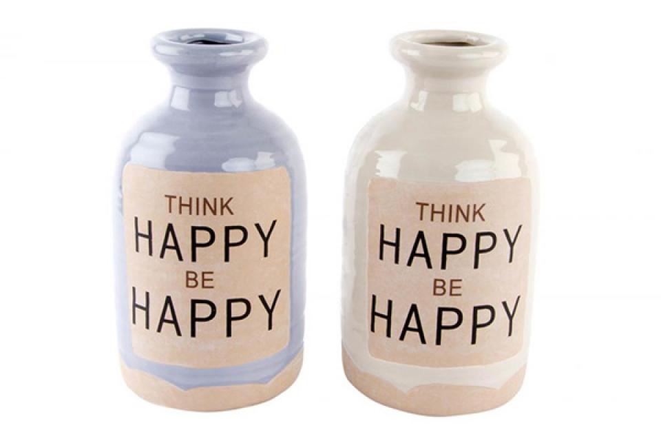 Lila i bela vaza happy 13x23,3