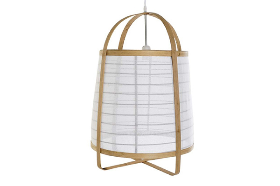 Luster bamboo white 44x44x64