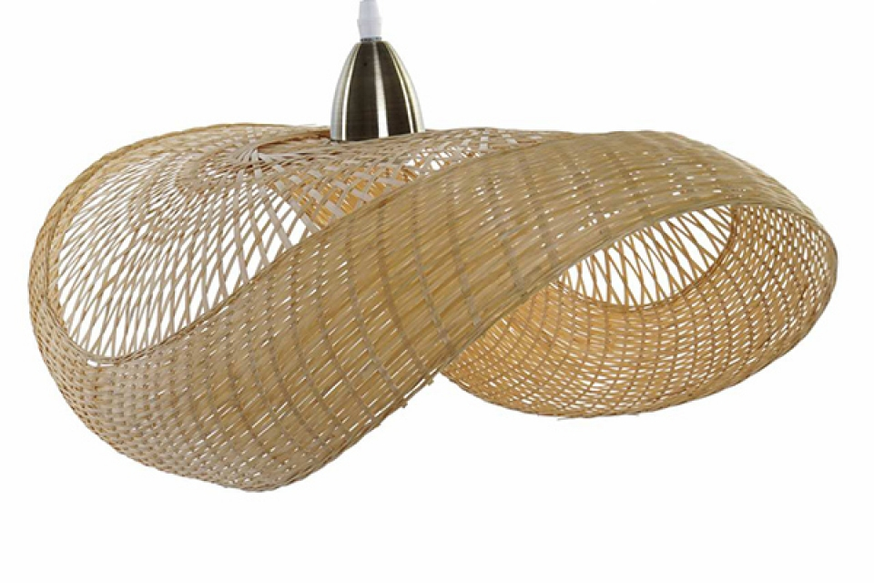 Luster hat natural 70x40x22
