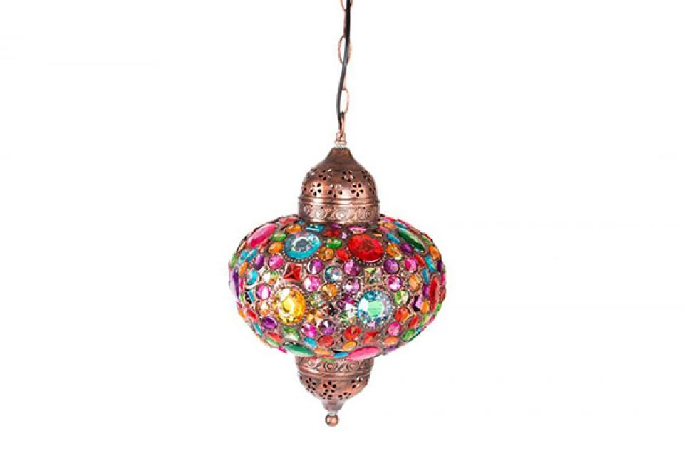 Luster sa perlicama u boji 31x46