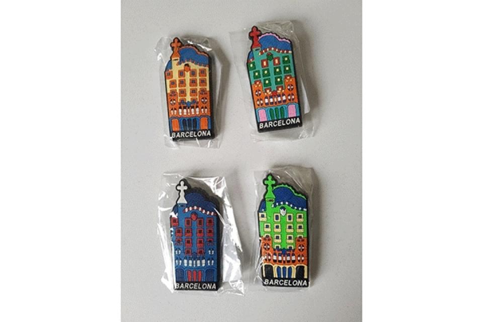 Magnet za frižider boje / guma 4x9