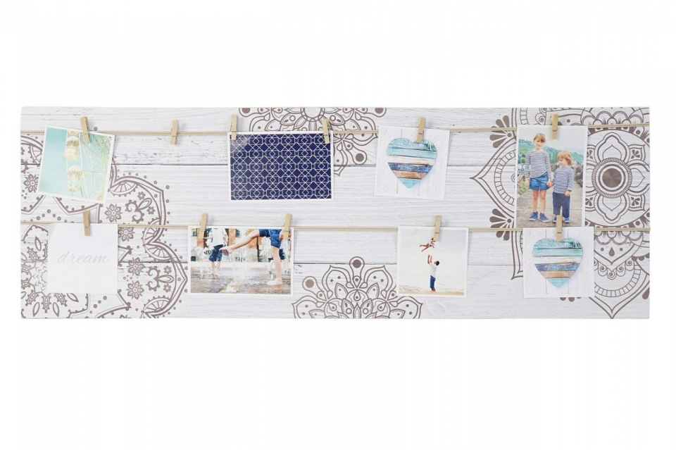 Memo ram mandala white 90,3x4x30,3