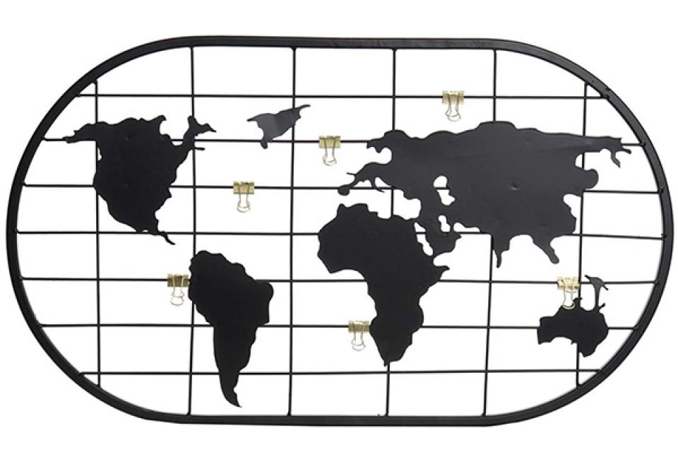 Memo ram map black 60x1x35