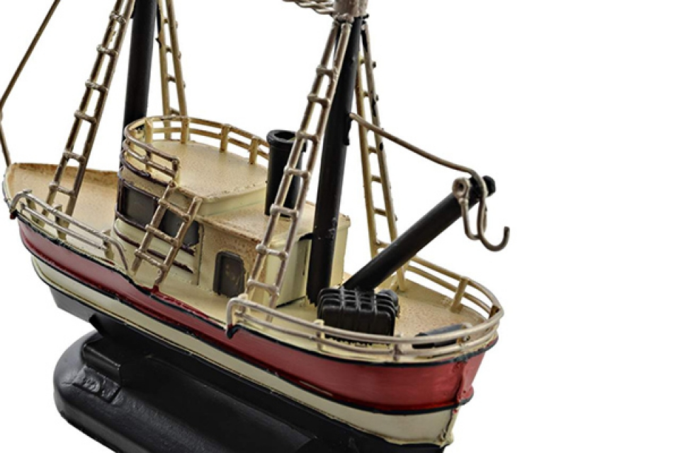 Metalna dekoracija brod 14,5x5,5x12 2 modela
