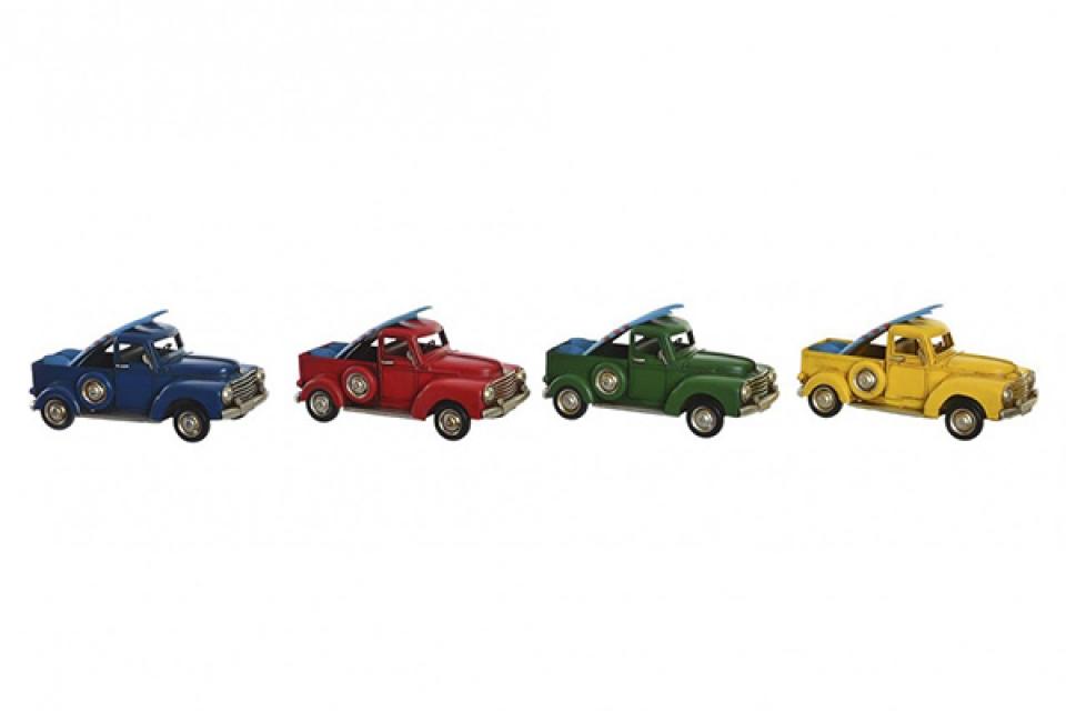 Metalna dekoracija car  25,5x11,2x13 4 boje