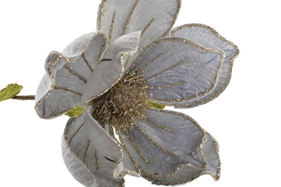 Metalna dekoracija flower 16x16x60