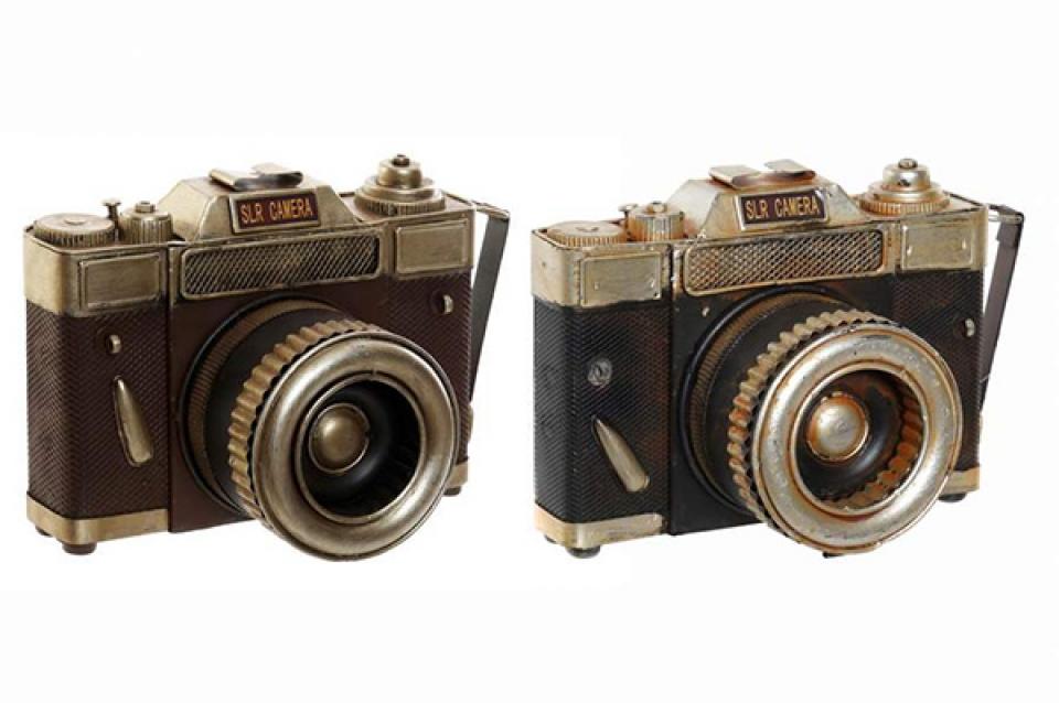 Metalna dekoracija fotoaparat 22x12x15