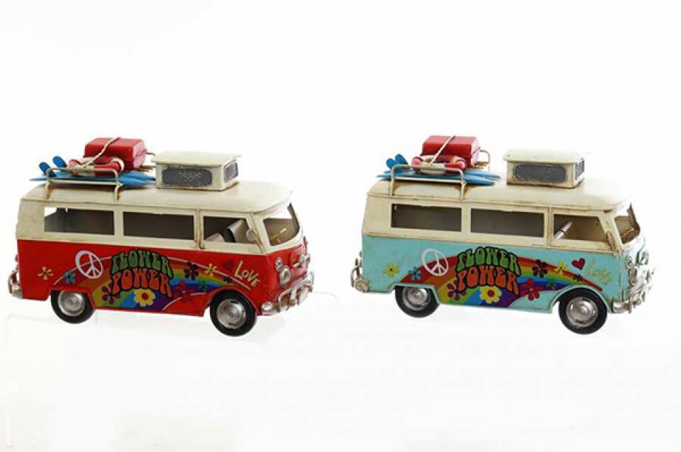 Metalna dekoracija hippy 25x11x15 2 modela