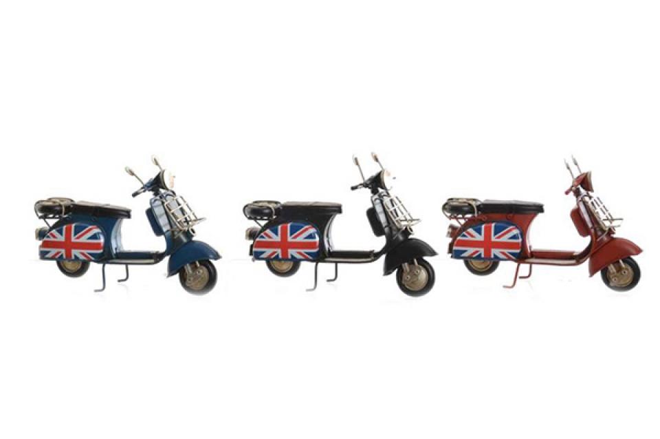 Metalna dekoracija london 18x7x11 3 modela