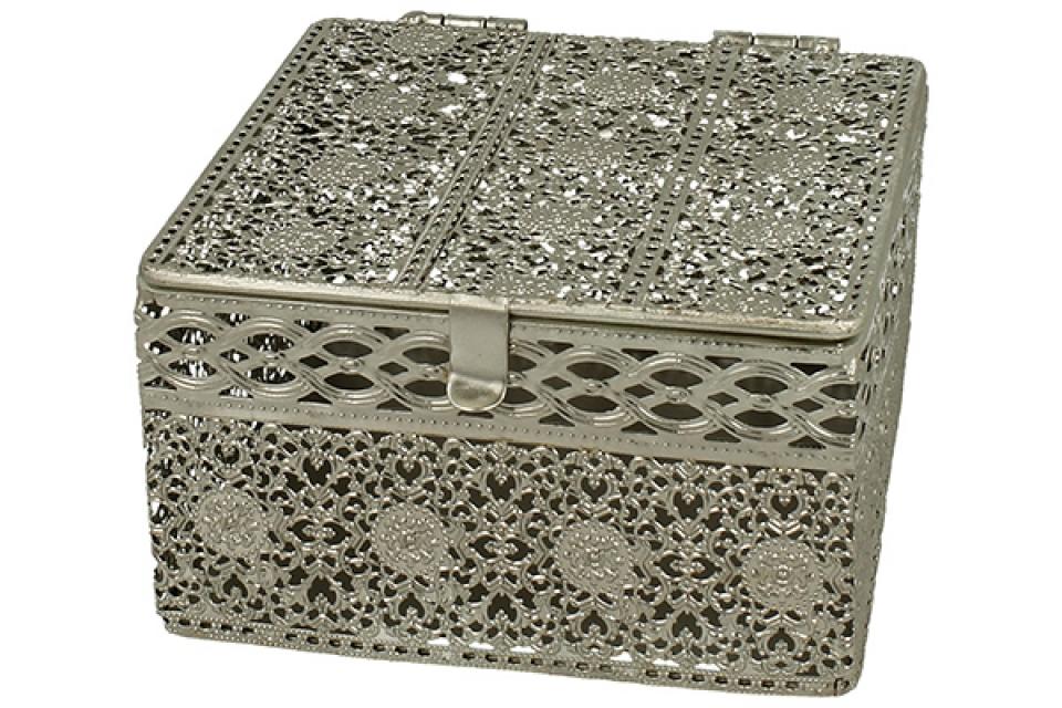 Metalna kutija azur 15x15x8,5