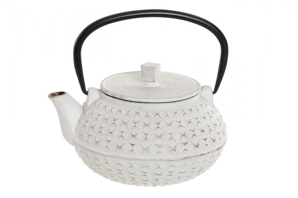Metalni  čajnik white 17x15x15,5 1l