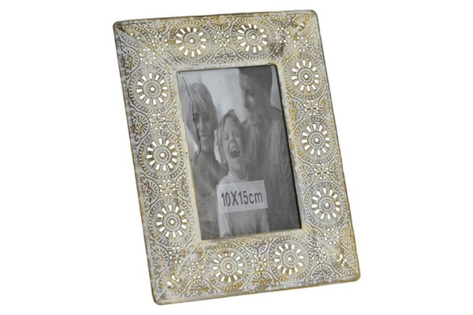 Metalni foto ram golden 10x15