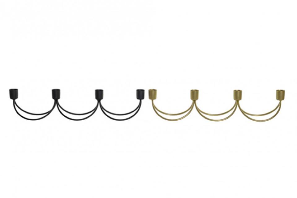 Metalni svećnjak 39x7,5x8,5 2 modela