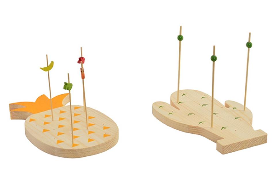 Meze set ananas / 15  21x18x1,5 2 modela