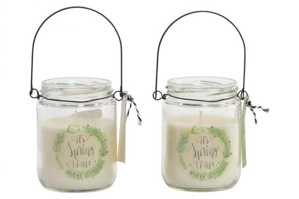 Mirišljava sveća spring 7x9 130 gr. perfume 2.5% 2 mod.