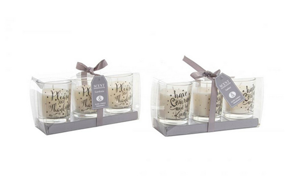 Mirišljave sveće set 3 perfume 2%  5x6 2 mod
