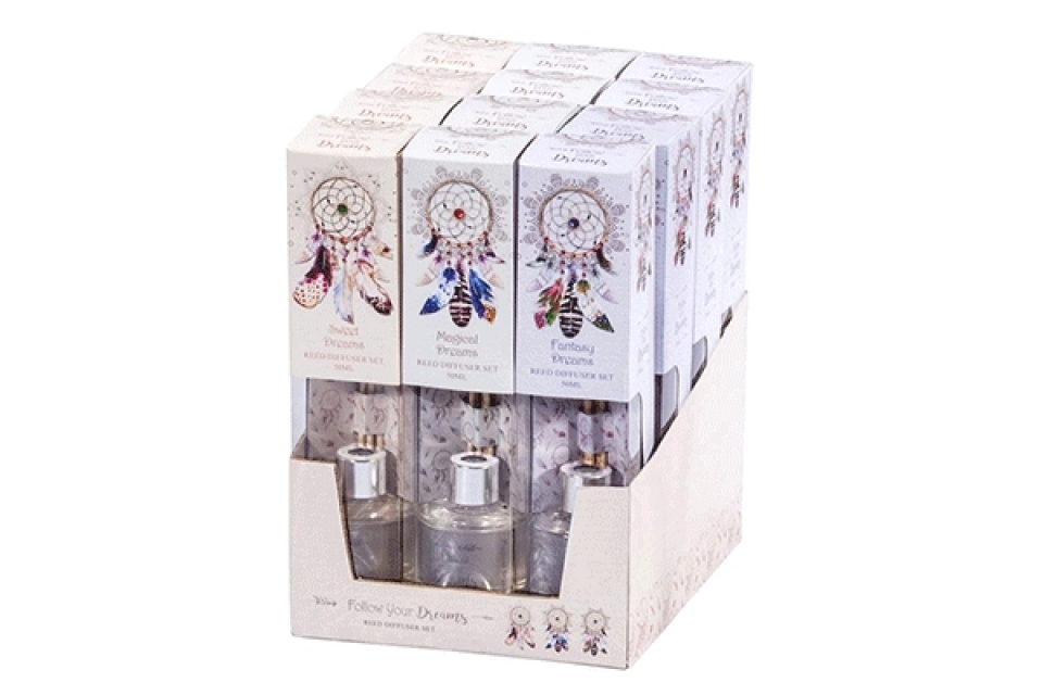 Mirišljavi štapići dream catcher 6x6x17 50 ml. 3 arome