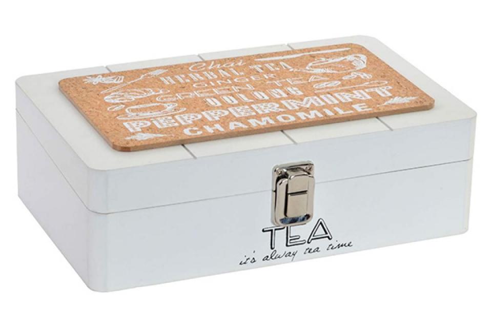 Natur bela kutija za čaj 24x15x8