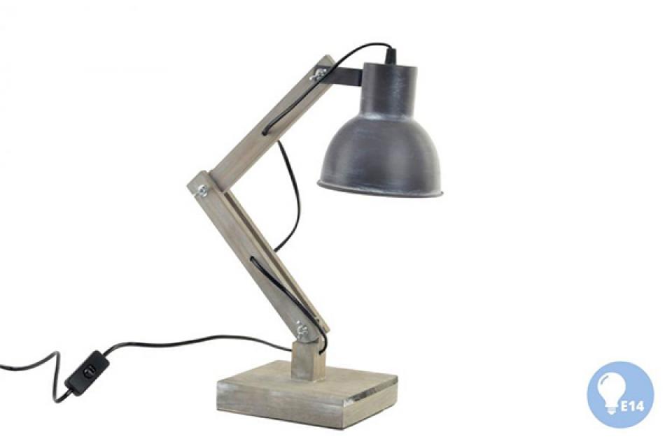 Natur siva lampa 15x34x46