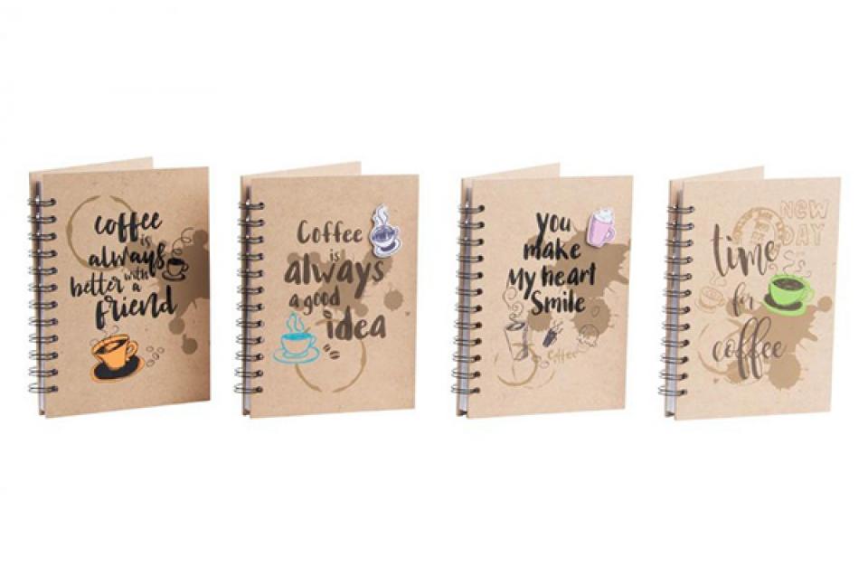 Notes coffee 14x2x18 80 s. 4 modela