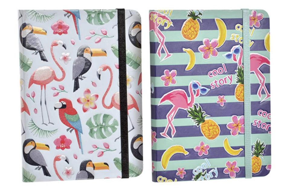 Notes flamingosi 13,5x1,5x18 2 modela