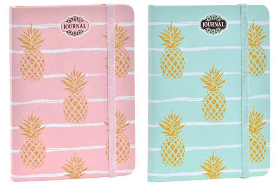 Notes pineapple 13,5x18 88 strane 2 modela