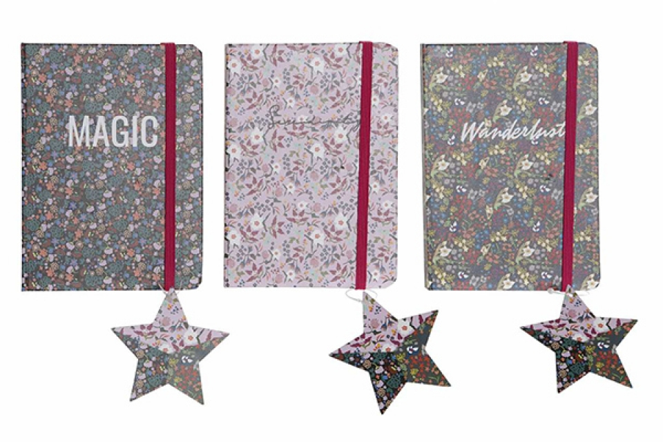 Notes zvezda 10,4x1x14,5 3 modela