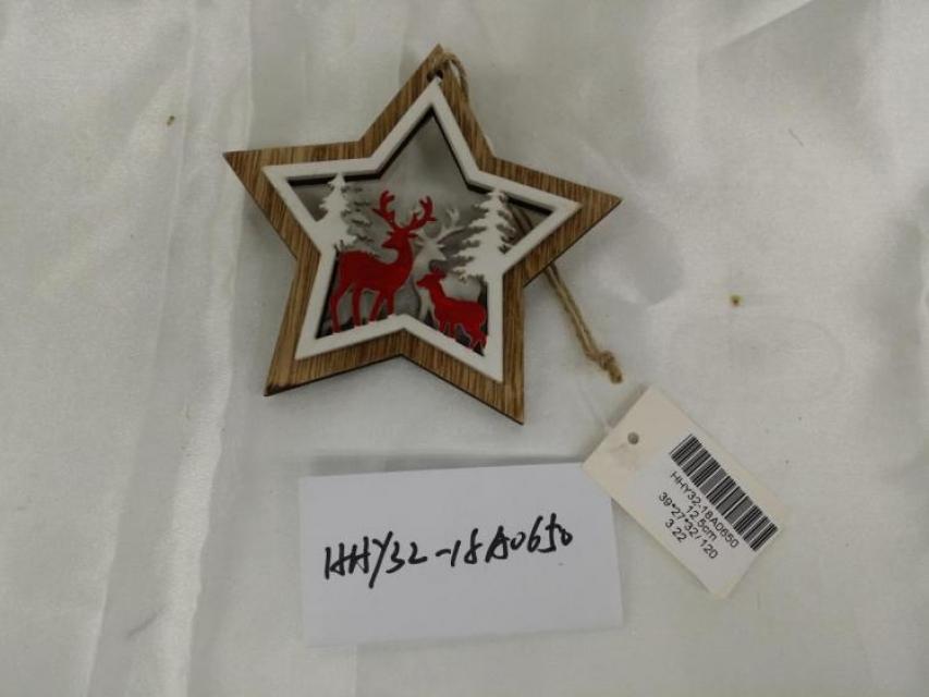 Novogodišnji ukras zvezda / drvo