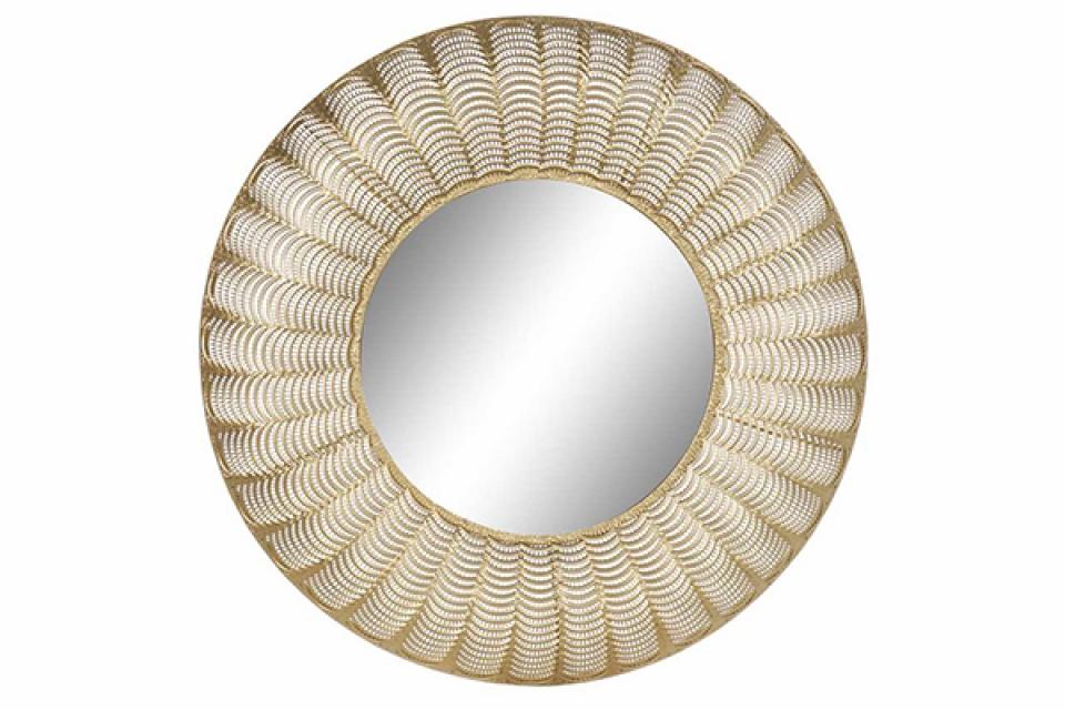 Ogledalo aged golden ii 75x3x76