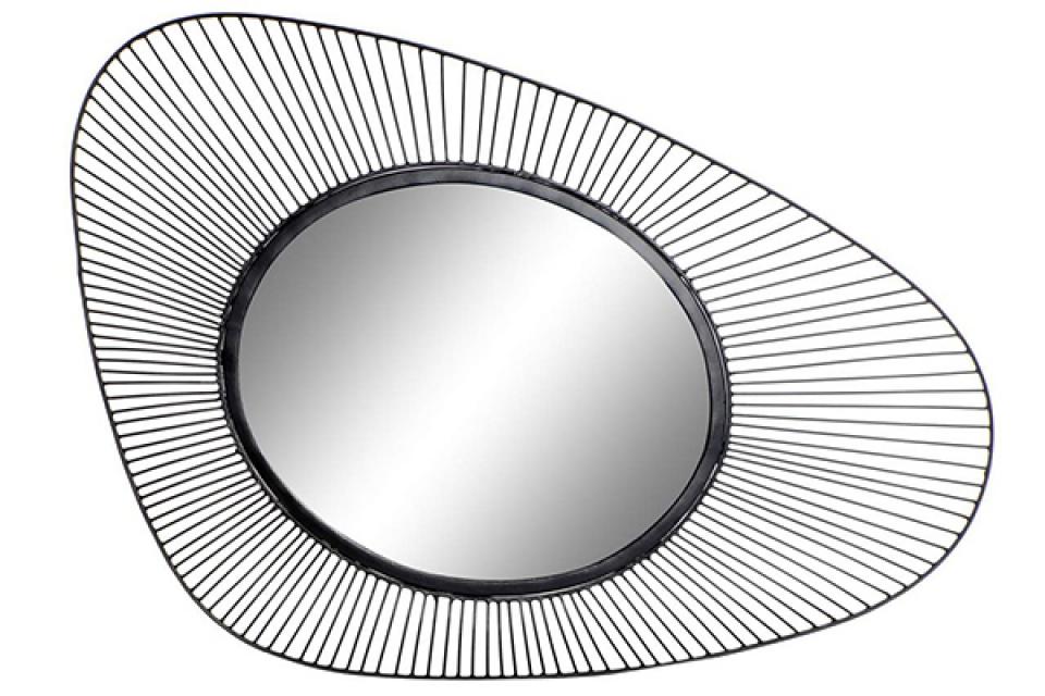 Ogledalo black 52x5,5x81