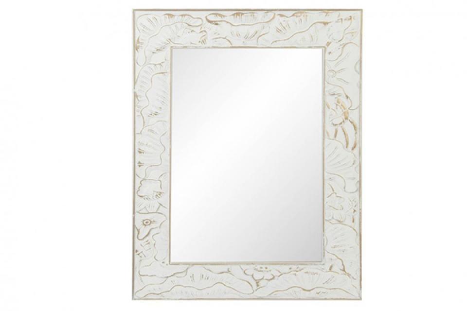 Ogledalo carved white 70x90x2