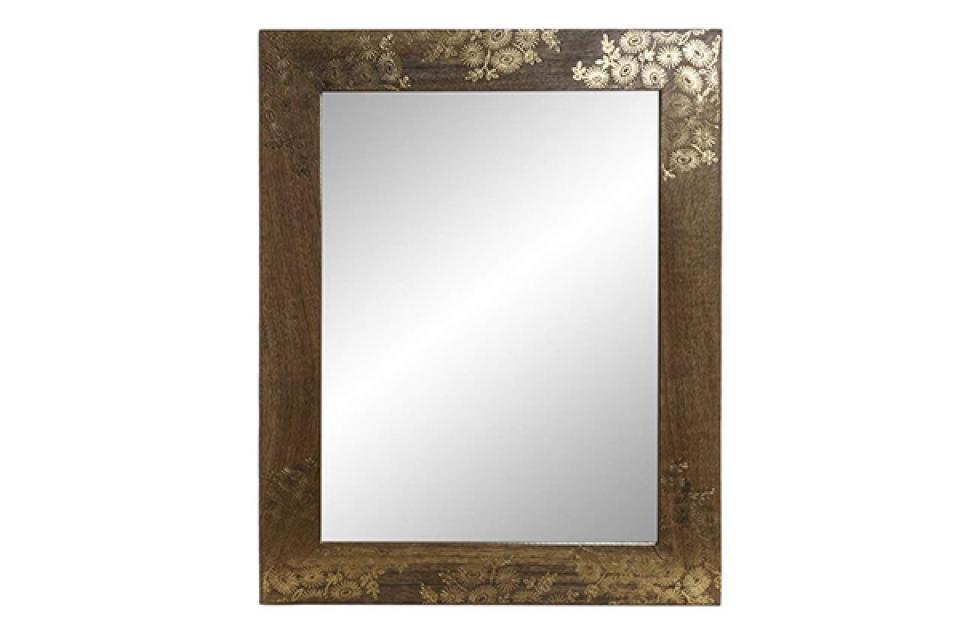 Ogledalo flower golden 40x2x50
