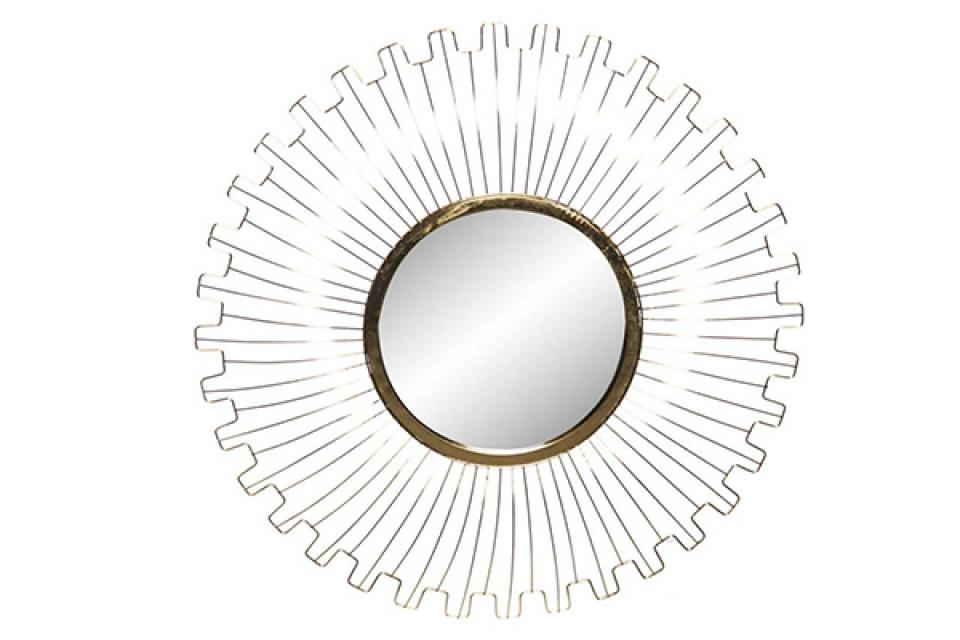 Ogledalo gold sun 67x4x67