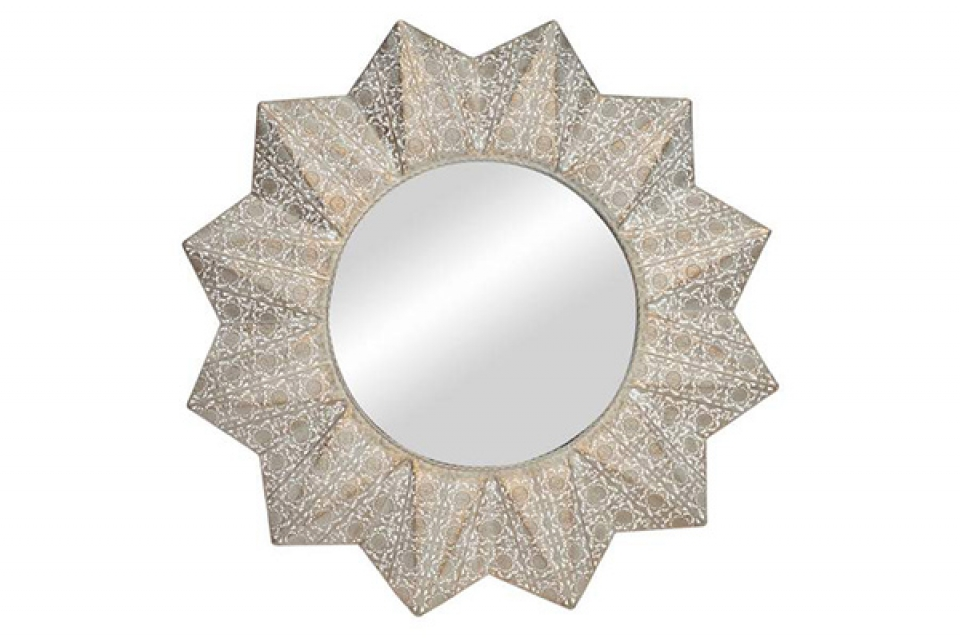 Ogledalo golden 72x5x72