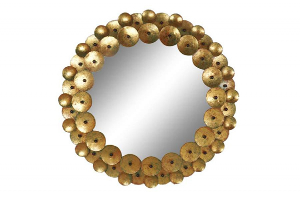 Ogledalo krugovi golden 95x3,5x95