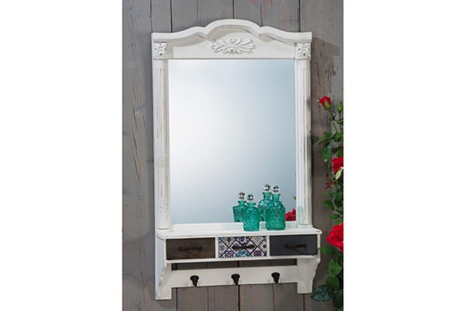Ogledalo sa tri fioke  57 x 16 x 99