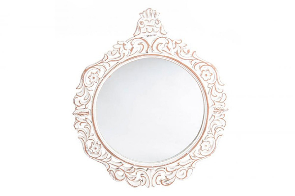 Ogledalo zidno 60x70x3 belo