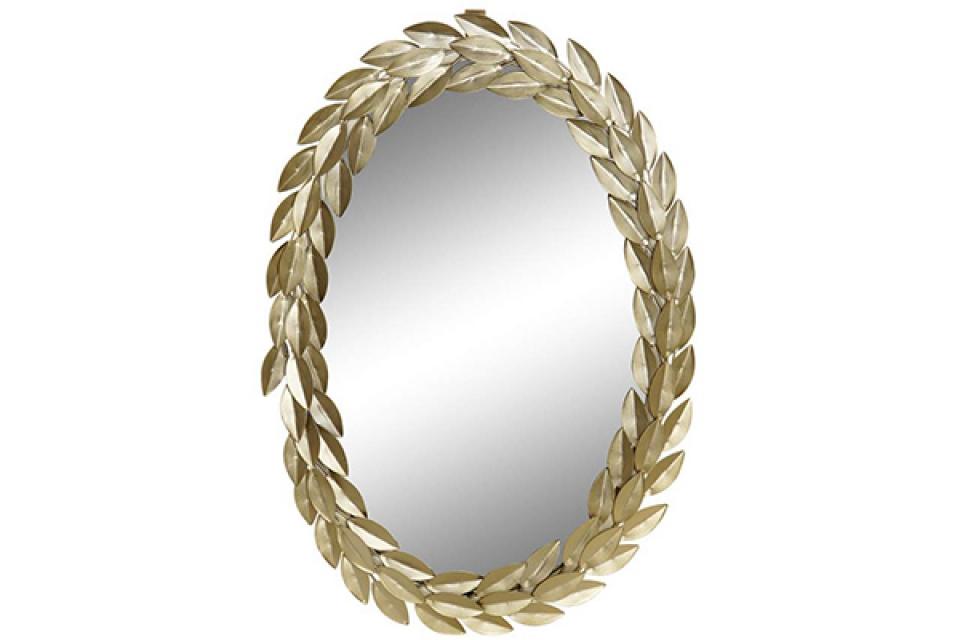 Ogledalo zlatni venac 33x2x49