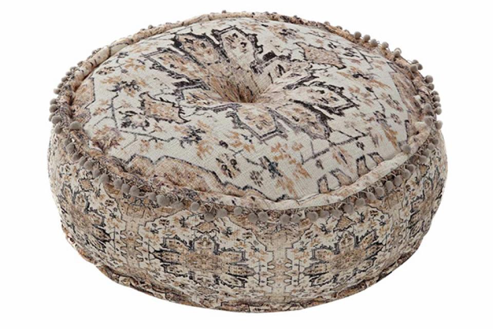 Okrugli podni jastuk flecos 60x60x23 7,5 kg.