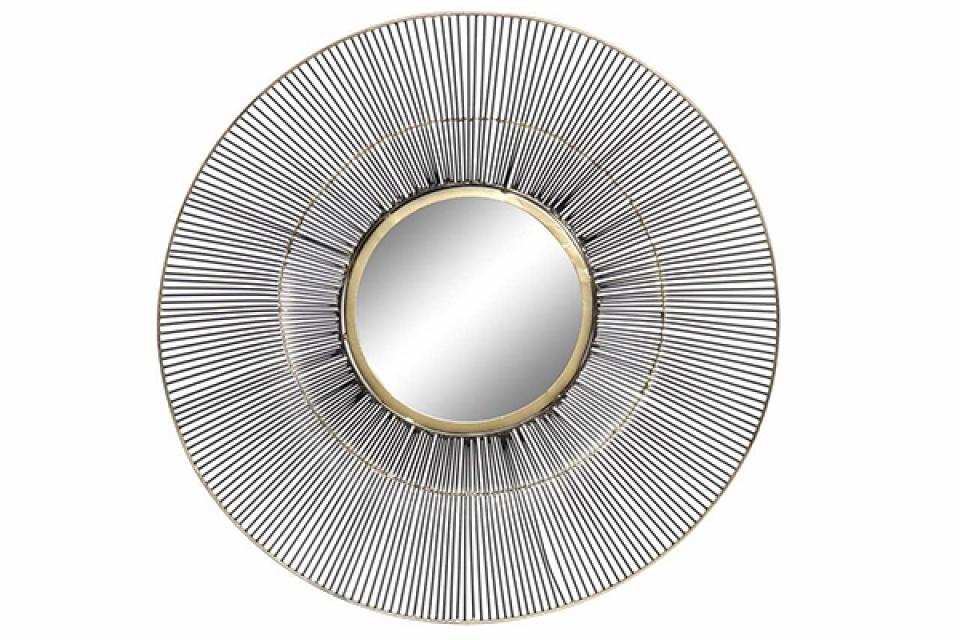 Okruglo moderno ogledalo 61x8x61