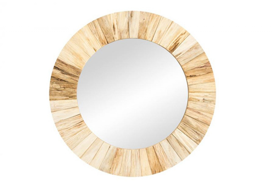 Okruglo rustik ogledalo 55x3,5