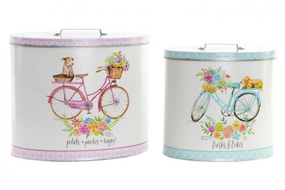 Ovalne kutije bicikli set / 2 24x15,5x20,5