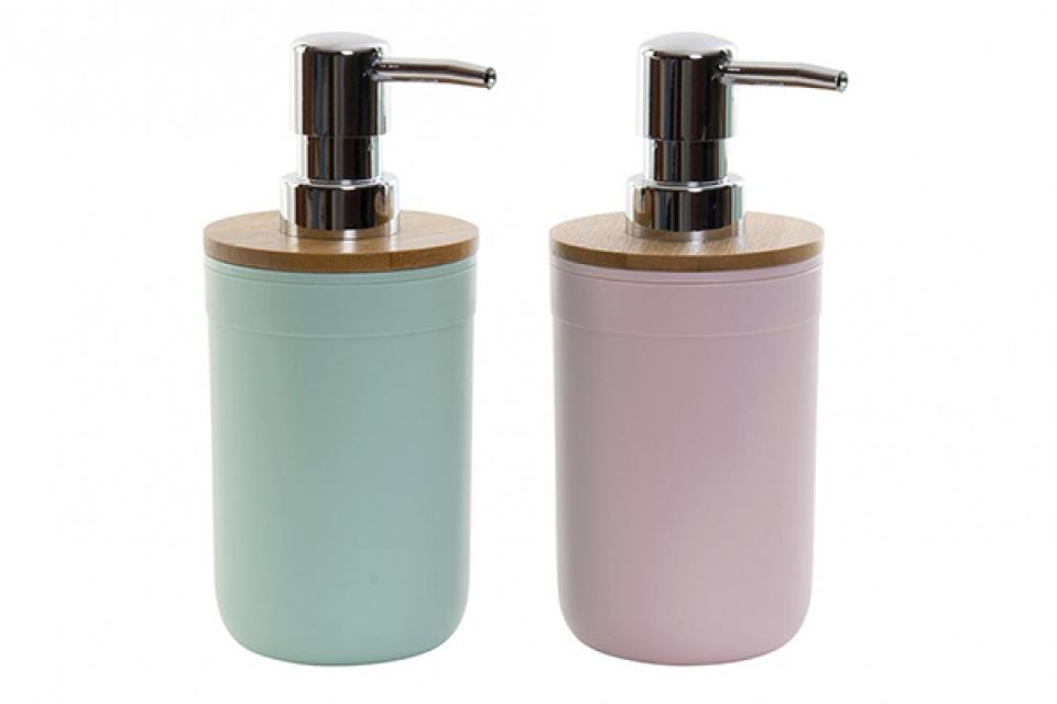 Pastelni dispenzer za sapun pp 7,5x7,5x17 2 modela