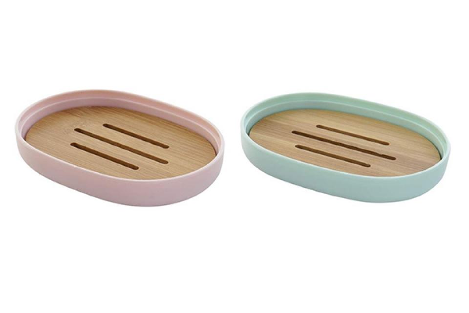 Pastelni držač sapuna pp 13x9,5x2,5 2 modela